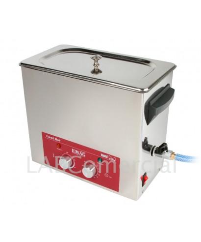 Baño de ultrasonidos analógico con calefacción 0.8 litros