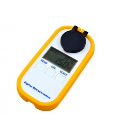 Refractómetro digital para cerveza de doble escala