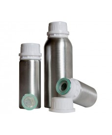 Flascó d'alumini amb tapa rosca i precinte 250 ml