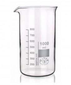 Bécher en verre de forme haute 1000 ml