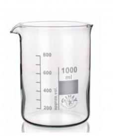 Bécher en verre de forme basse 50 ml