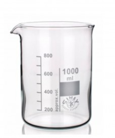 Bécher en verre de forme basse 1000 ml