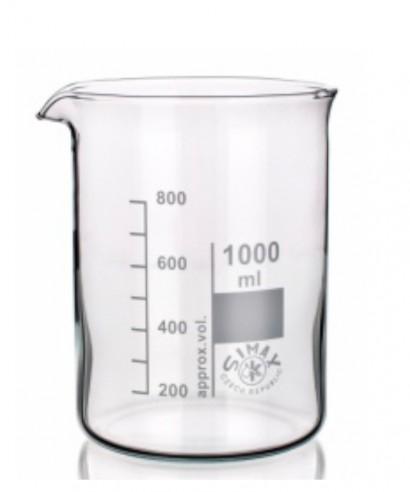 Vaso de precipitado forma baja 600 ml
