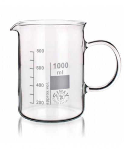 Vaso de precipitado forma alta con asa 250ml