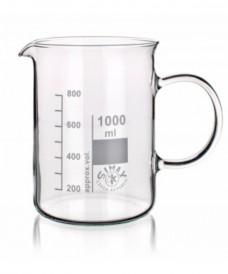Vas de precipitats amb nansa 600 ml
