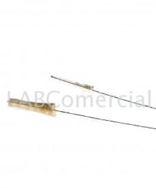 Goupillon en cheveux naturelle pour pipette capillaire