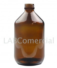 500ml Amber Veral Bottle without Cap