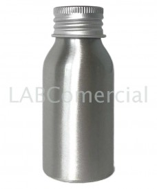 50ml Aluminium Bottle with 24mm Screw Cap