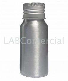 Frasco de aluminio 30ml tapa rosca DIN24