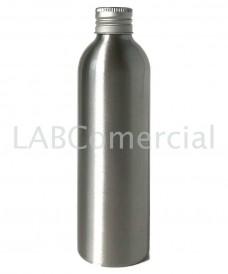 Frasco de aluminio 250ml tapa rosca DIN24