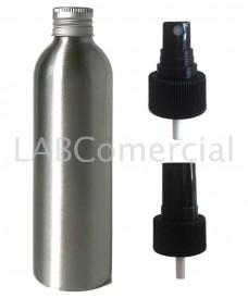 Frasco aluminio 250ml spray atomizador