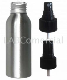 Frasco aluminio 50ml spray atomizador
