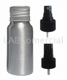 Flascó alumini 30ml esprai atomitzador
