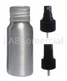 Frasco aluminio 30ml spray atomizador