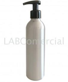 Flascó alumini 250ml i bomba dosificadora 24mm