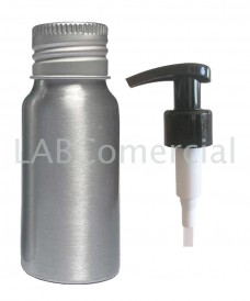Flacon aluminium 30ml et pompe dispenser 24mm