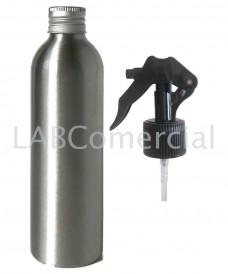 Flacon aluminium 250ml et spray à gâchette 24mm