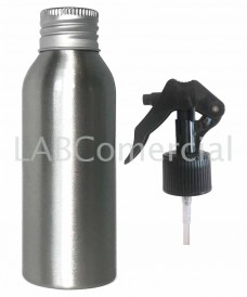 Flacon aluminium 50ml et spray à gâchette 24mm