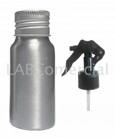 Flacon aluminium 30ml et spray à gâchette 24mm