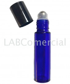 10ml Blue Bottle & Stainless Steel Roll-On