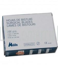 Caja 100 hojas bisturí nº 24