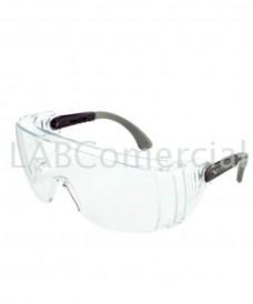 Gafas seguridad superpuesta antirayado antivaho