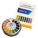 Disponemos de Papel indicador para pH en diversas escalas